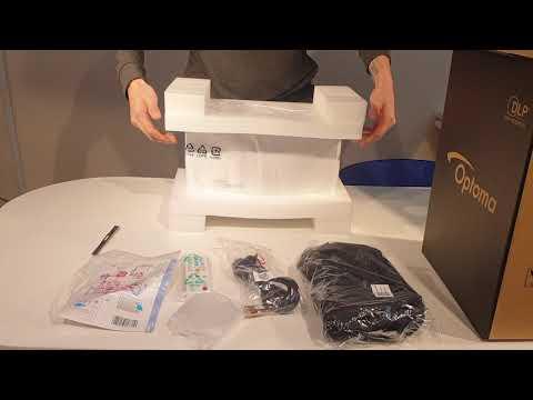 Распаковка Обзор Проектора Optoma EH460ST Projector review