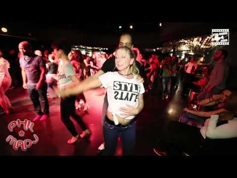 Stéphane & Yasmine - social dancing @ Phil & Madj
