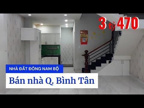 Chính chủ Bán nhà quận Bình Tân dưới 4 tỷ, đường Trương Phước Phan, Bình Trị Đông