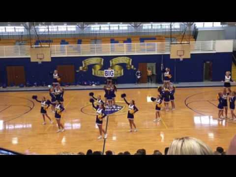 Castle North Middle School Fall Pep Assembly 2016