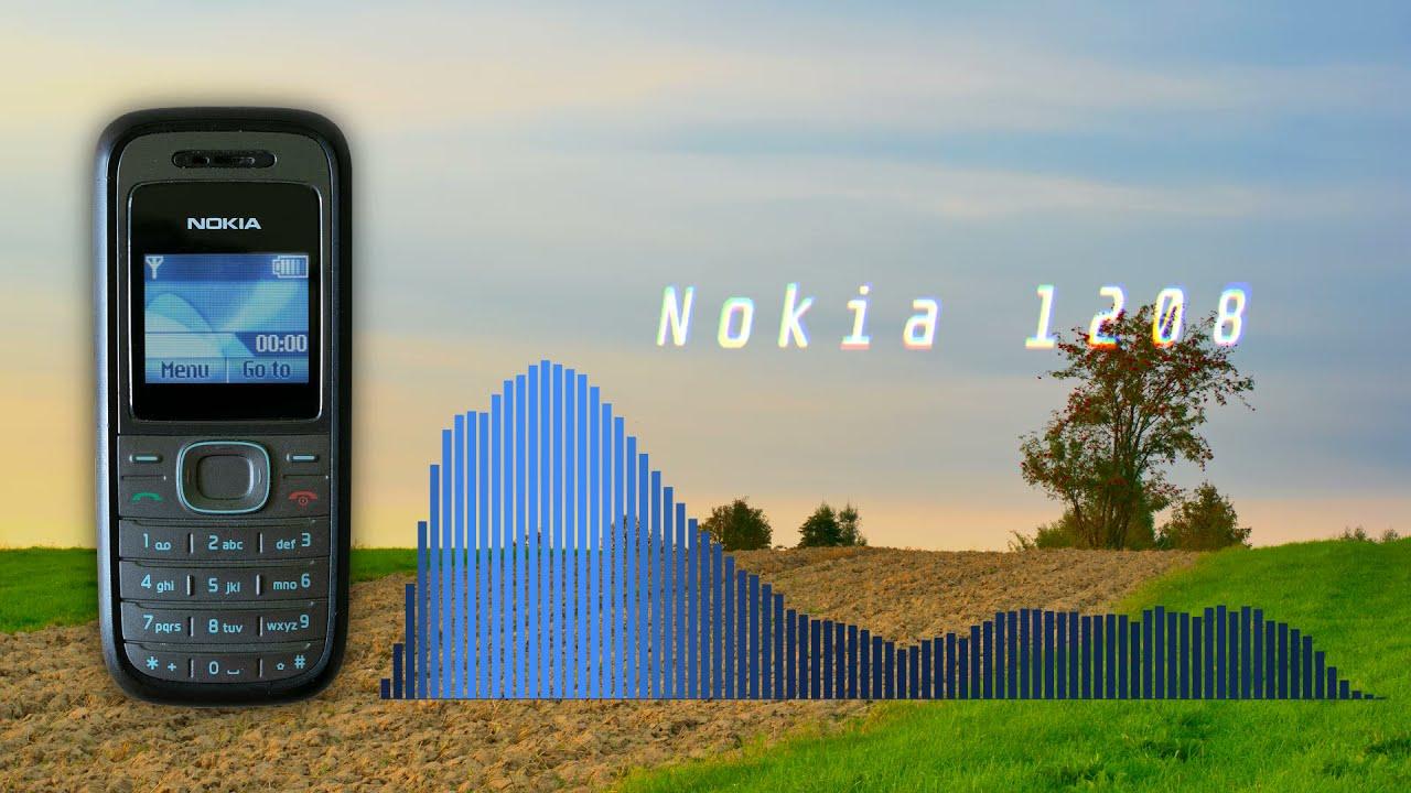 NOKIA 1208 SOUNDS TECHNO TRANCE REMIX