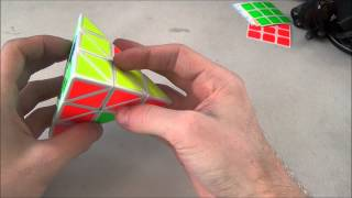 Pyraminx Keyhole Method Tutorial (With Last Layer Algorithms)