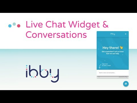 Ibby Live Chat & Conversations Screen