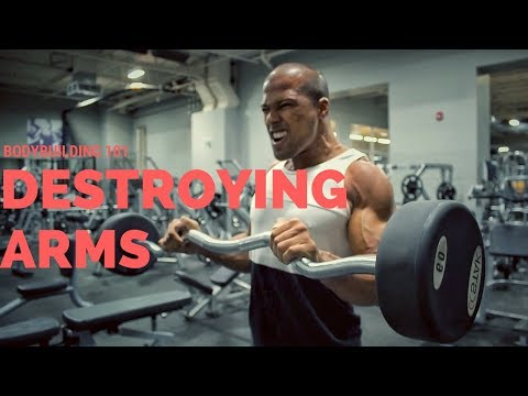 Hitting Arms Like a 7x Champion | Workout With Different Variations