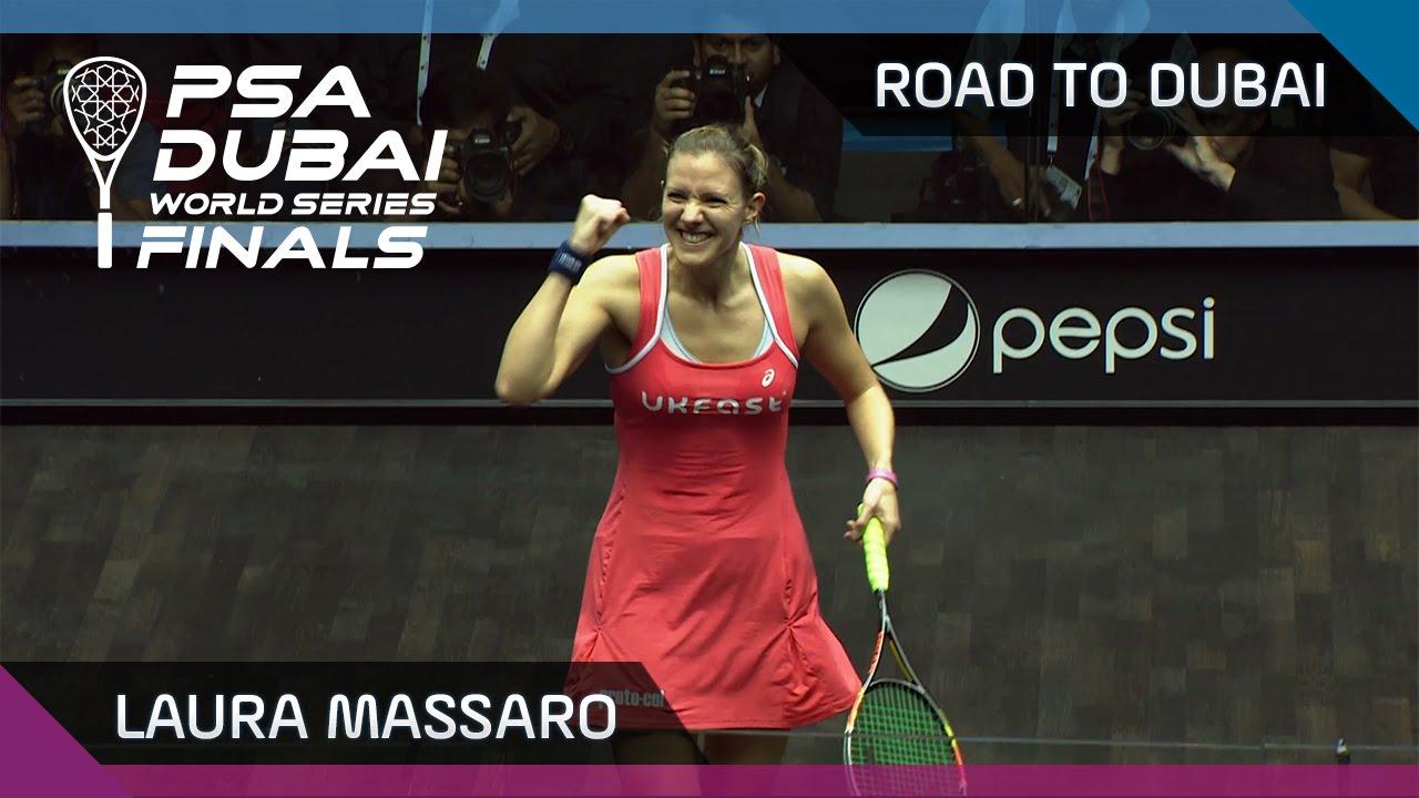 Squash: Laura Massaro - Road To Dubai