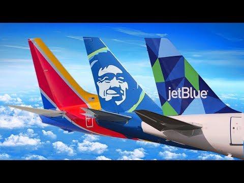 SOUTHWEST vs JETBLUE vs ALASKA AIRLINES | Economy Week II Trailer