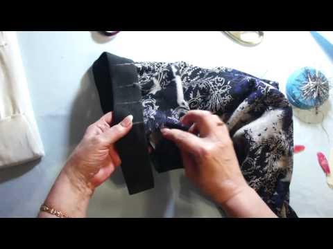Как пришить резинку к штанам