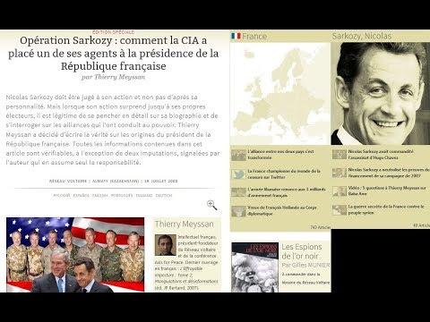 Sarkozy et ses liens avec la CIA