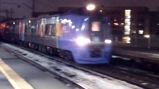 【JR北海道】特急スーパー宗谷と快速列車
