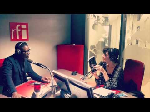"Thione Niang  interviewe sur Radio France International par  Yasmine l'hôte de ""En Sol Majeur"" on."