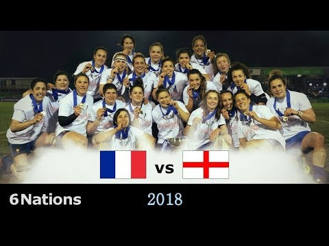 France - Angleterre [Rugby Féminin//6 Nations] 2018