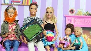 Barbie ve Ailesi 98.Bölüm - TV Kavgası | Çizgi Film tadında | EvcilikTV