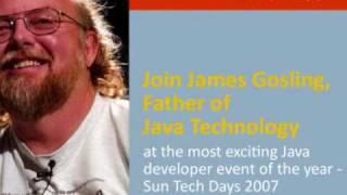 James Gosling at Sun Tech Days, Kuala Lumpur