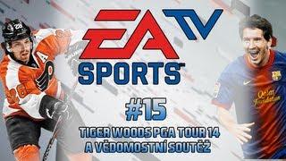 EA SPORTS TV - soutěž a Tiger Woods PGA Tour 14