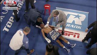 Round 10 Miguel 'Alacrán' Berchelt vs Óscar Valdez | Box Azteca