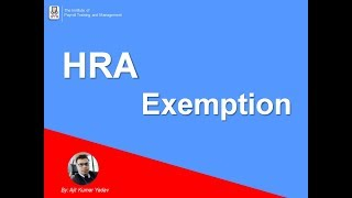 House Rent Allowance - HRA Exemption Rules & Tax Deductions Explain by AKumar @IPTM.ORG.IN