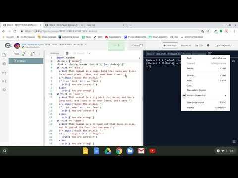 Animal Guessing Game | Python Tutorial thumbnail