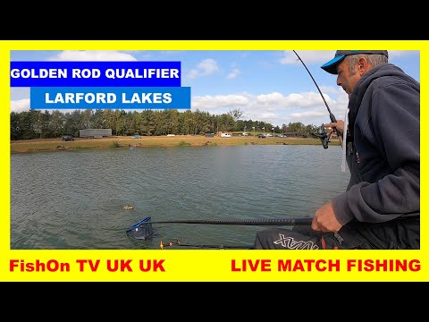 FishOn TV UK : GOLDEN ROD QUALIFIER : LARFORD LAKES : LIVE MATCH