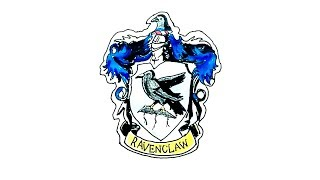 How to Draw the Ravenclaw Crest from Harry Potter