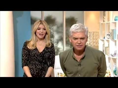 Holly & Phil laugh at the cannabis plants on set and more! - This Morning 5th March 2012