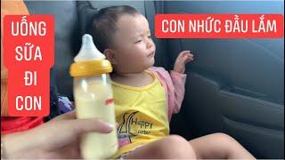 Con gái rượu Khương Dừa lý sự với mẹ, nhất quyết không chịu uống sữa