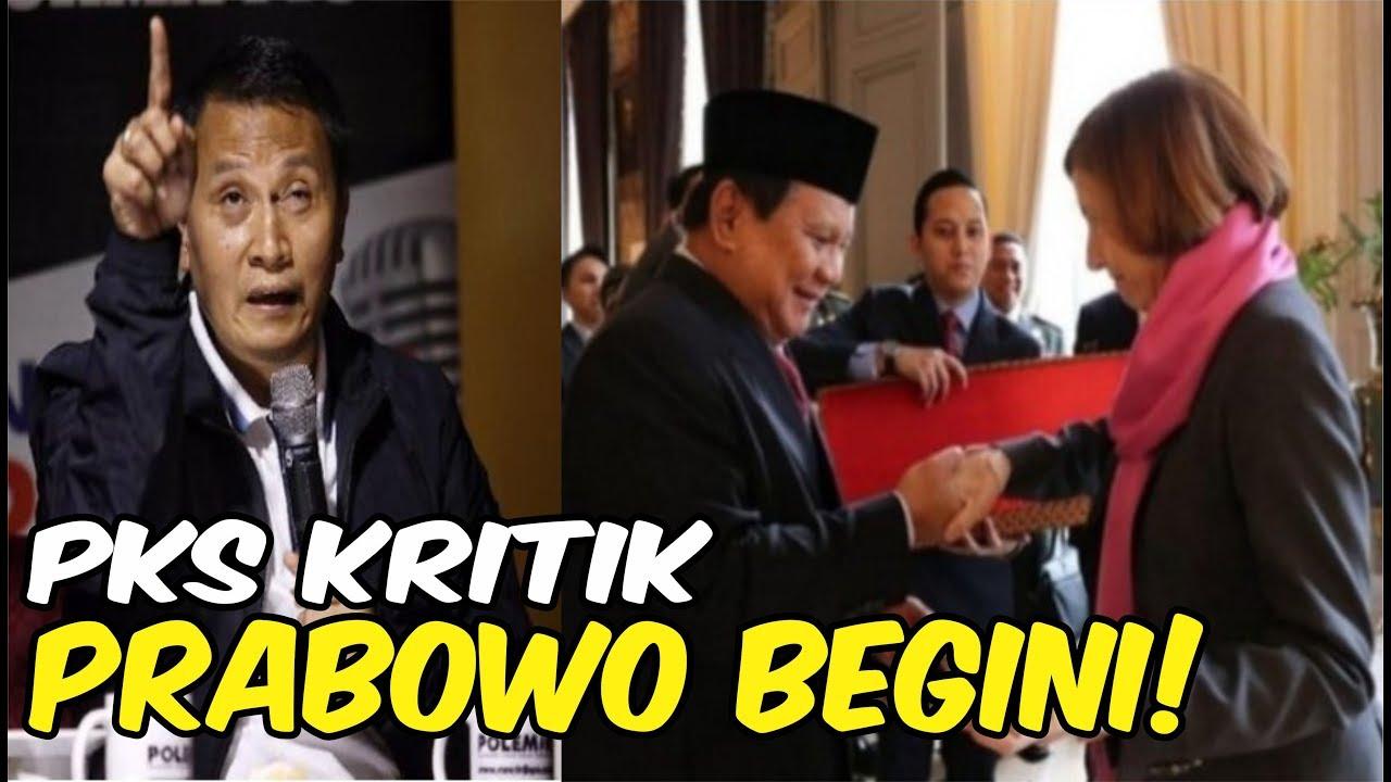PKS KRITIK PRABOWO SERING KE LUAR NEGERI - BERITA VIRAL ...