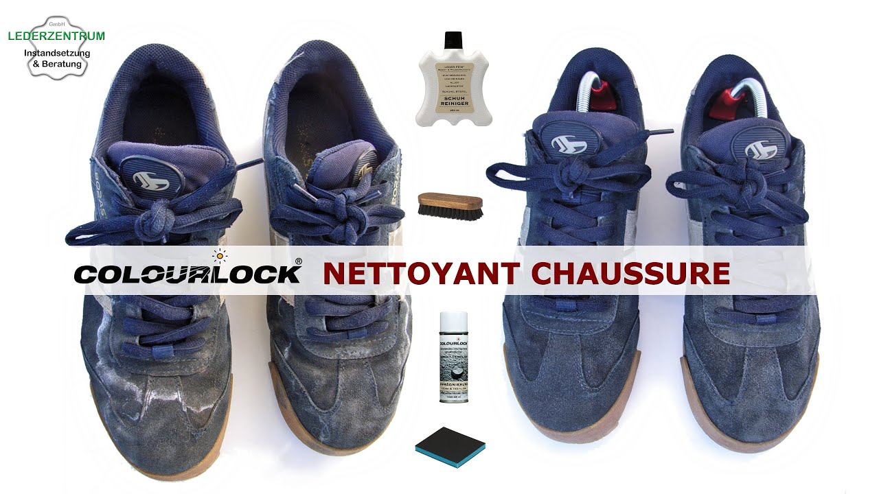 nettoyage de chaussures en daim youtube. Black Bedroom Furniture Sets. Home Design Ideas