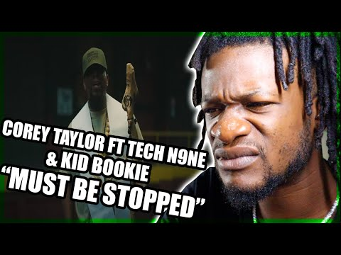 Corey Taylor - CMFT Must Be Stopped (feat. Tech N9ne \u0026 Kid Bookie) [OFFICIAL VIDEO] (REACTION)