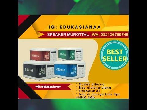 Murottal Speaker Murottal