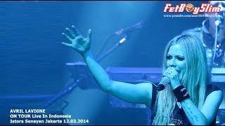 AVRIL LAVIGNE - HUSH HUSH Live in Jakarta, Indonesia 2014