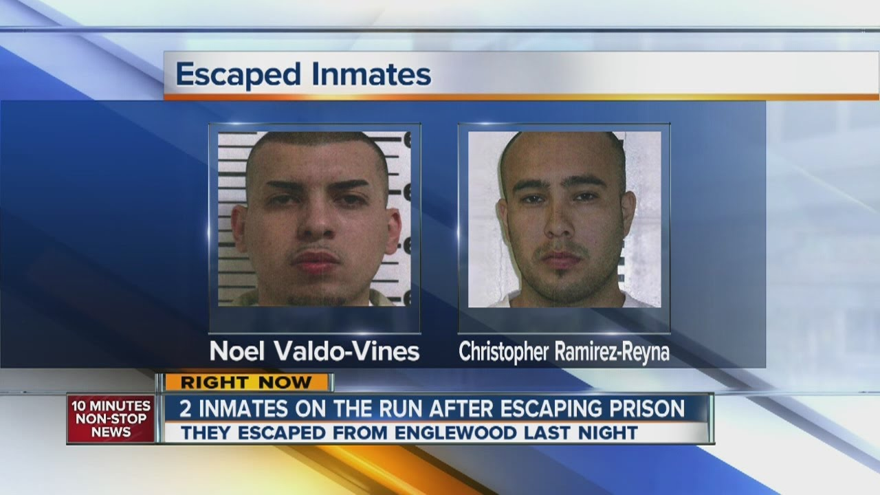2 inmates escape Englewood Federal Correctional Facility