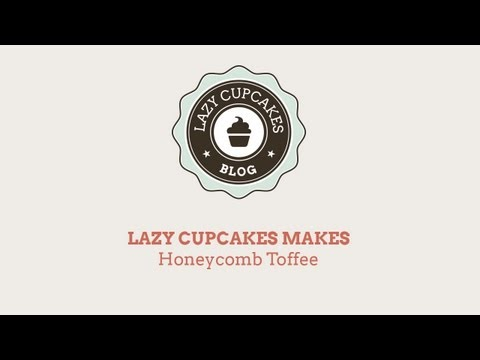 How to make Honeycomb Cinder Toffee