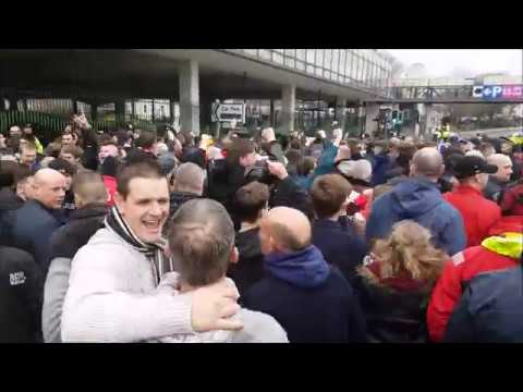 Plymouth Argyle v Exeter City 2017 . Journey to Home Park.
