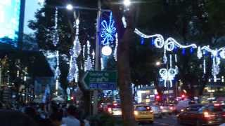 Orchard rd., Singapore - Christmas decorations 2013