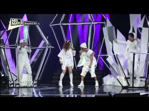 MIX & MATCH Team B.I ( B.I, Donghyuk, Hongseok) Ft LEE HI - Let It Go