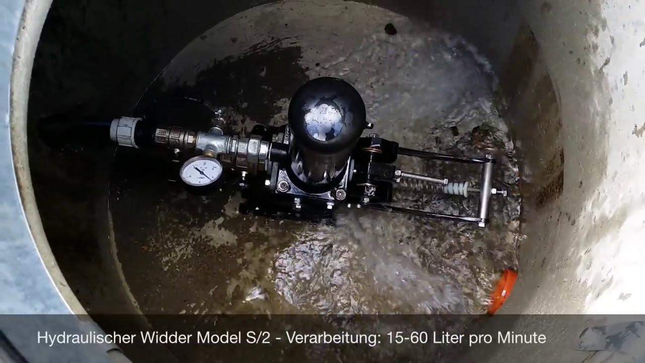Hydraulischer Widder S2 Wasser Pumpen Ohne Strom Mp