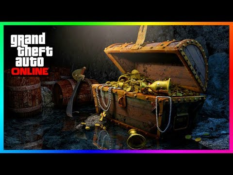 GTA Online SECRET Treasure Hunt Locations Found - ALL 20 Hidden Clues To Find The GOLD Gun! (GTA 5)