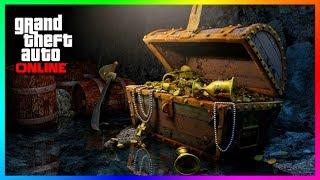 GTA Online SECRET Treasure Hunt Locations Found - ALL 20 Hidden Clues To Find The GOLD Gun! (GTA 5)