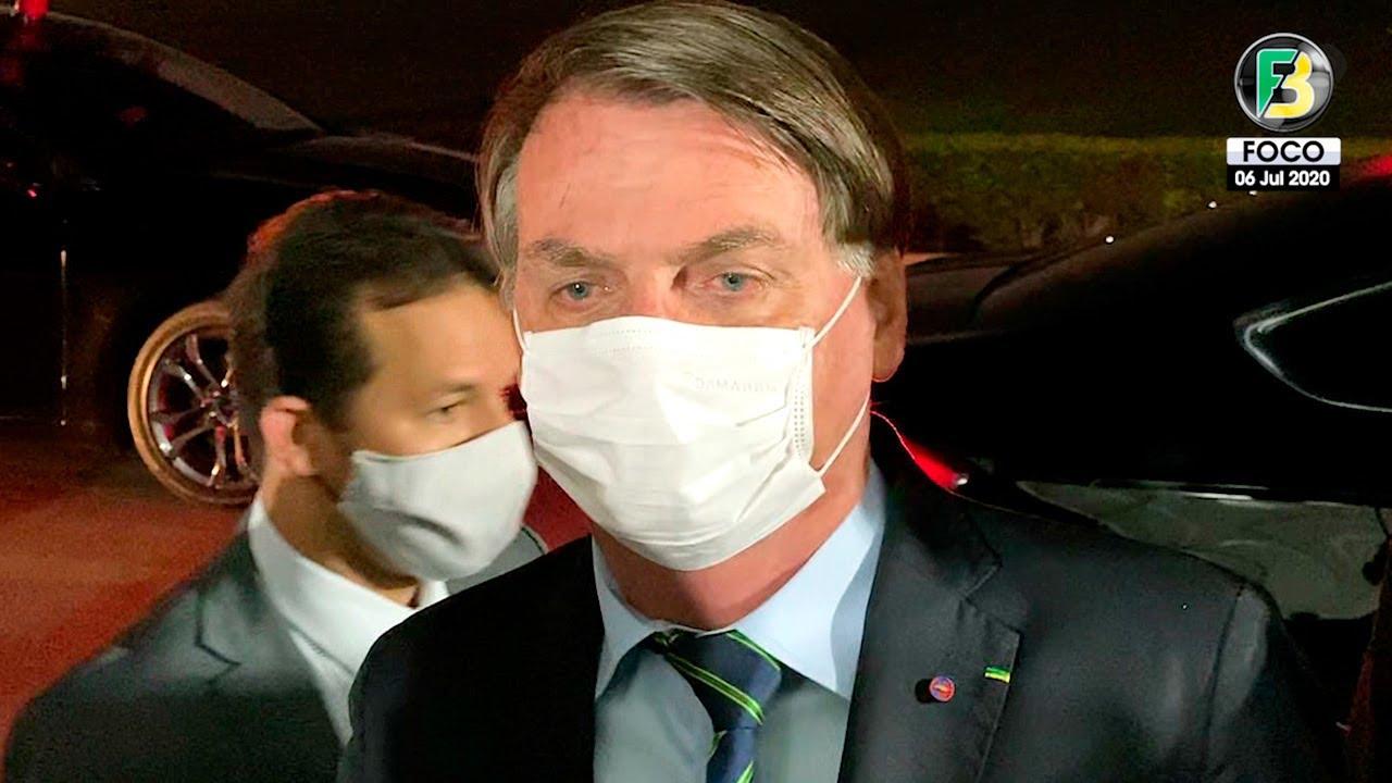 Presidente Jair Bolsonaro com suspeita de Covid revela resultado de seu exame de pulmão e mais!