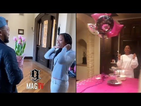 Romeo Miller Surprises Sister Inty For Her B-Day! 🎂