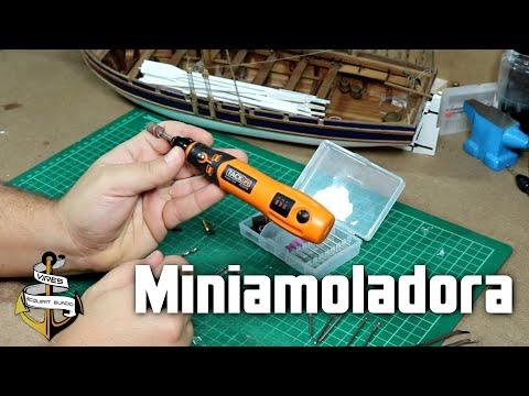 """Miniamoladora Tacklife PCG01B para Modelismo: """"Casi"""" una Dremel barata y con batería"""