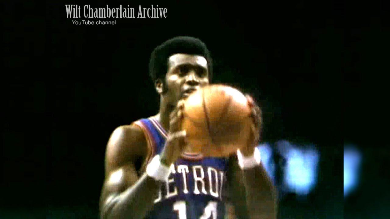 Ed Miles 21 points Pistons at Bucks 10 18 1969 Full