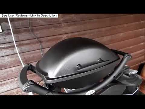 weber q2400 electric grill review youtube. Black Bedroom Furniture Sets. Home Design Ideas