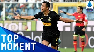 Sanchez scores and he is sent off! Sampdoria 1-3 Inter Top Moment Serie A