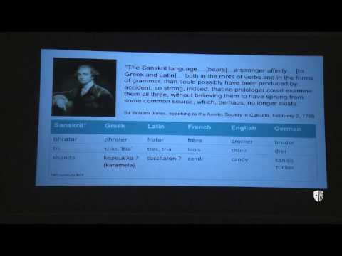 Provost Lecture: Mark Pagel - The Evolution of Human Languages
