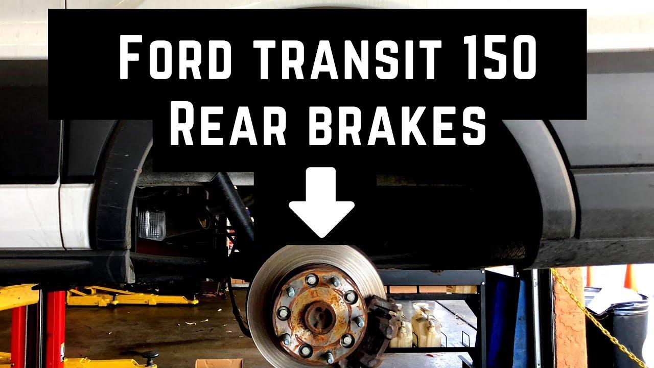 TWIN REAR WHEEL MODELS FORD TRANSIT MK8 2015-2019 FRONT /& REAR BRAKE PADS