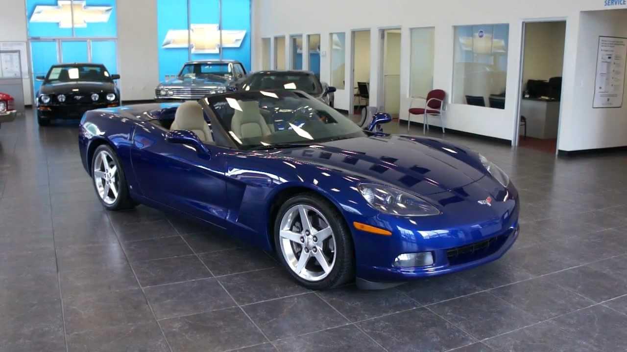 2006 chevrolet corvette convertible for sale loaded heads up navigation power top youtube. Black Bedroom Furniture Sets. Home Design Ideas