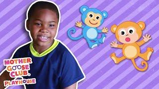 Five Little Monkeys + More | Mother Goose Club Nursery Playhouse Songs & Rhymes