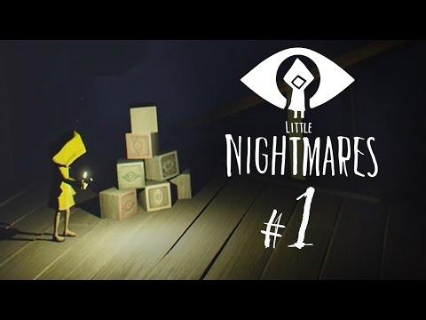 Little Nightmares | Part 1 | Gameplay Playthrough | So Cute.. So Creepy...