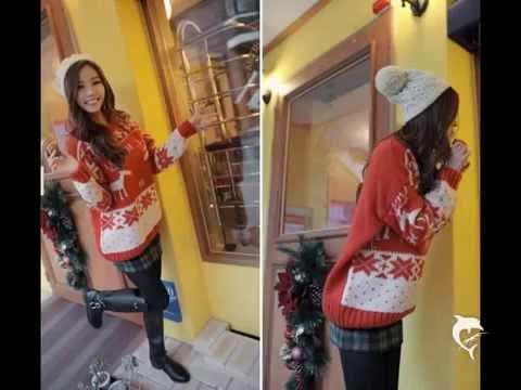 แฟชั่นเสื้อกันหนาวเกาหลี 2013